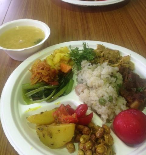 ネパール料理を作って味わう会